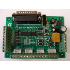 Breakout board CP0-10V CNC 4 Axis with Charge Pump and Relay