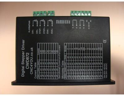 Digital DSP Stepper Driver 7.2A, 80VDC or 60VAC CWD872