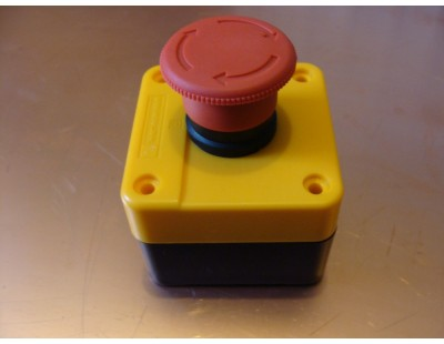 Emergency Stop Switch Boxed NC 400V 6A