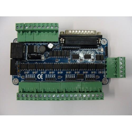 breakout board cnc stepper motor 5 axis relay hg08 rh cnc4you co uk Parallel Port Breakout Board Breakout Board Schematic