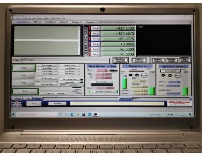 Laptop Mach3 Installed