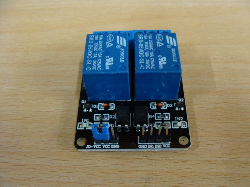 Relay Board With 2 Relays