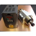 Spindle Motor 2.2KW Water cooled ER20 with Matching VFD + Mount