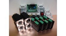 Stepper Motor Kit 4Nm x 4 Axis + 4 Mounts Nema23