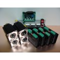 Stepper Motor Digital Kit 4Nm x 4 Axis Nema23