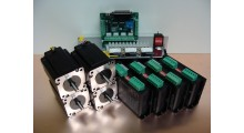 Stepper Motor Kit 4Nm x 4 Axis Nema23