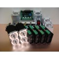 Stepper Motor Digital Kit 2.2Nm x 4 Axis + 4 Mounts Nema23